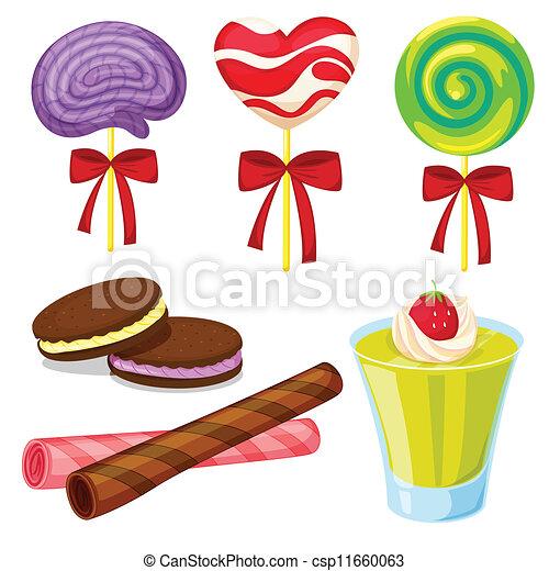 various sweets - csp11660063