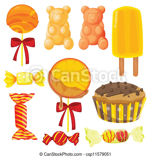 various sweets - csp11579051