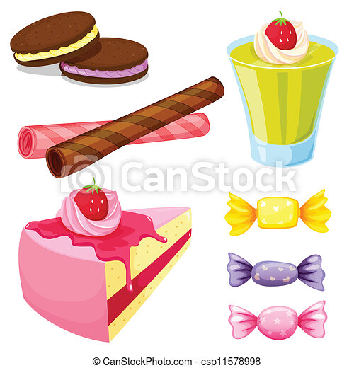 various sweets - csp11578998