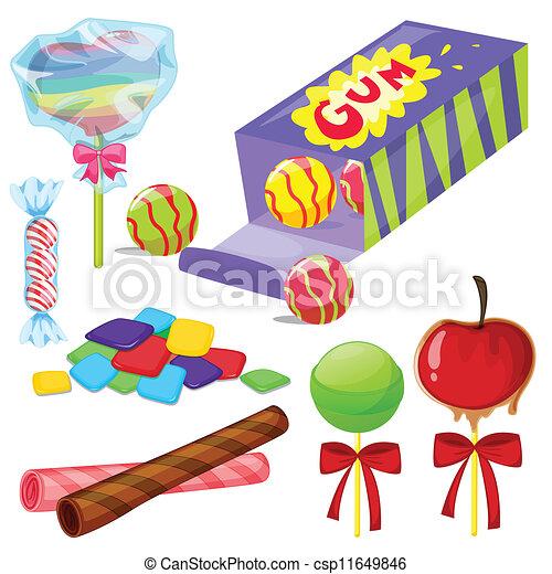 various sweets - csp11649846