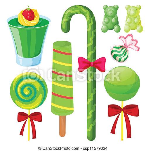 various sweets - csp11579034