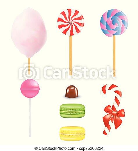Various sweets set - csp75268224