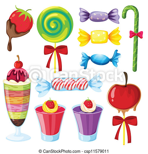 various sweets - csp11579011