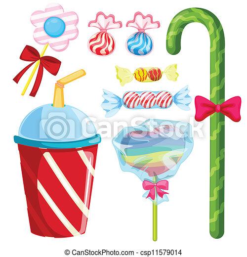 various sweets - csp11579014