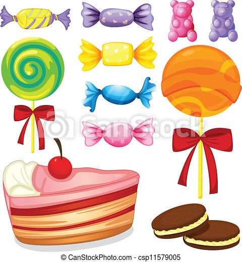 various sweets - csp11579005