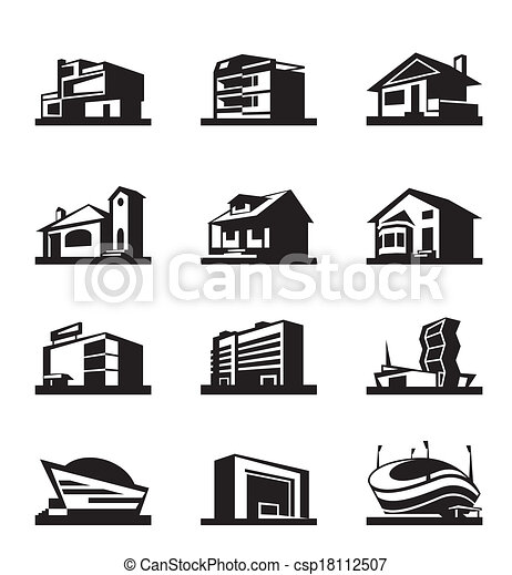 Various types of construction - csp18112507