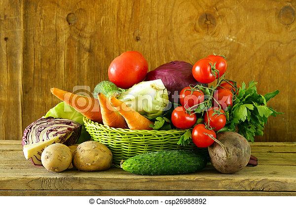 various vegetables  - csp26988892