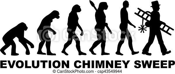 varredor, evolução, chaminé - csp43549944