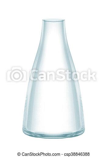 vase isolated on a white background - csp38846388