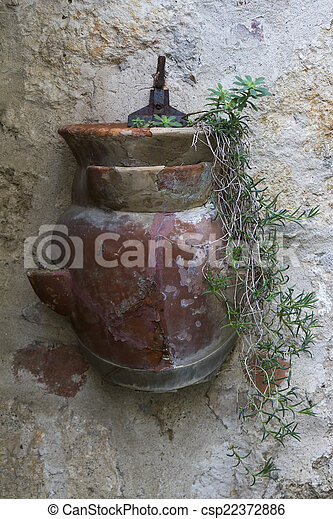 vase on the wall - csp22372886
