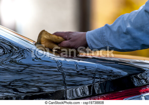 vask, automobilen - csp19738808