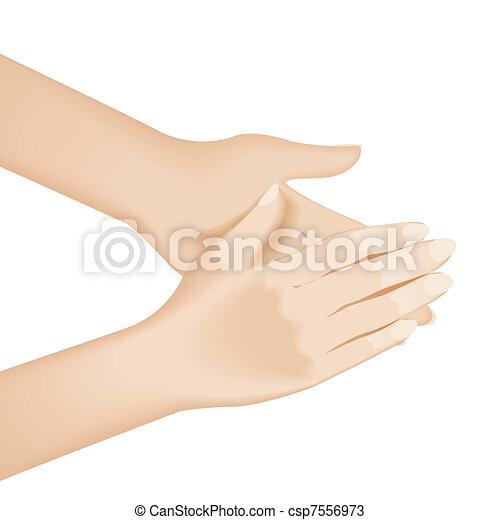 vaske, hånd - csp7556973
