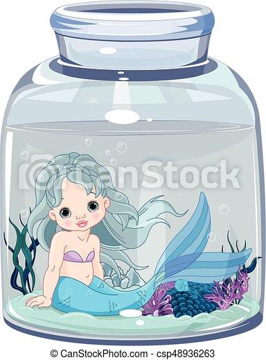 vaso, sirena - csp48936263