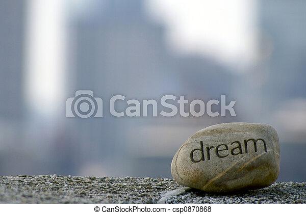 vast lichaam, dromen - csp0870868