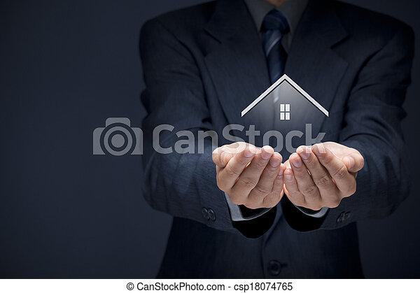 vastgoed agent - csp18074765