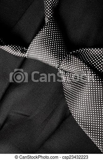 vastknopen, witte , black  - csp23432223