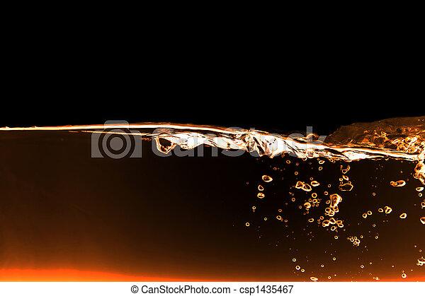 vatten, abstrakt - csp1435467