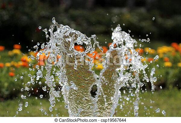 vatten, plaska - csp19567644