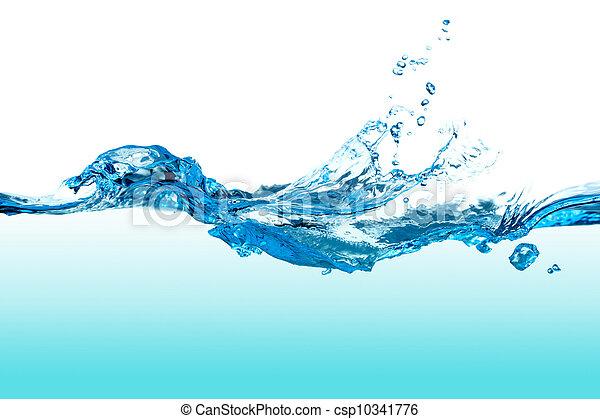 vatten, splash. - csp10341776