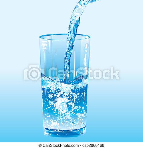 vatten, strömmat, torktumlare - csp2866468