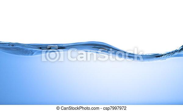 vatten, våg - csp7997972