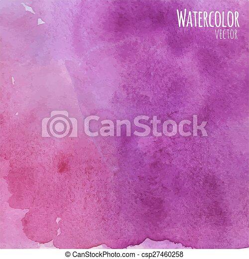 vattenfärg, bakgrund - csp27460258