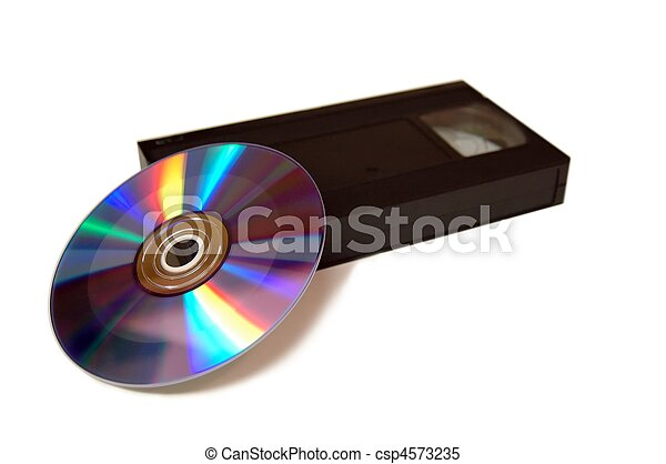VCR and DVD - csp4573235