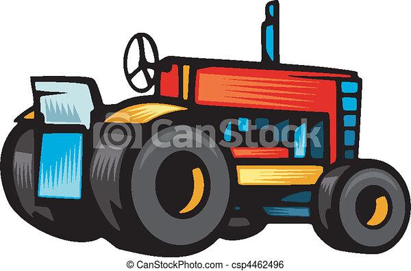 veículos, agricultura - csp4462496