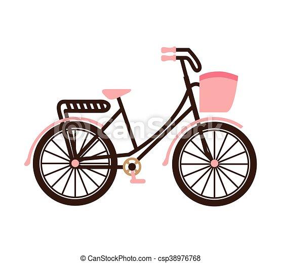 Vecchia Bicicletta Retro Icona