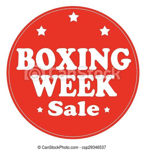 vecka, boxning - csp29346537