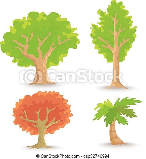 vecteur, arbre - csp32746994