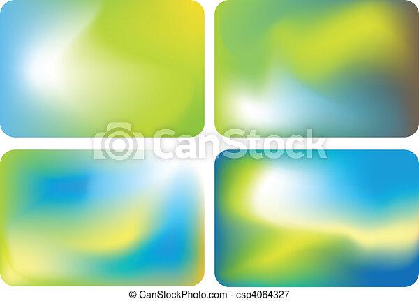 vecteur, coloré, fond - csp4064327