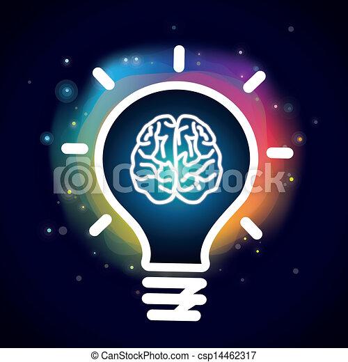 vecteur, concept, créativité - csp14462317