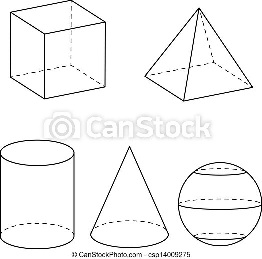 vecteur, géométrie - csp14009275
