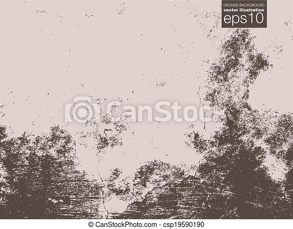 vecteur, grunge, fond, illustration - csp19590190
