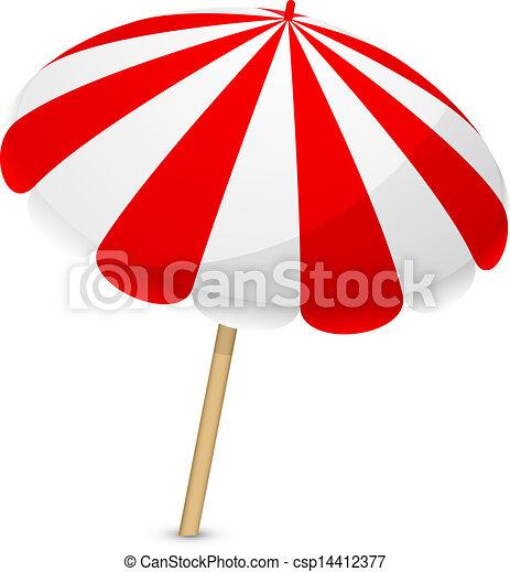Vecteur parasol illustration - Dessin parasol ...