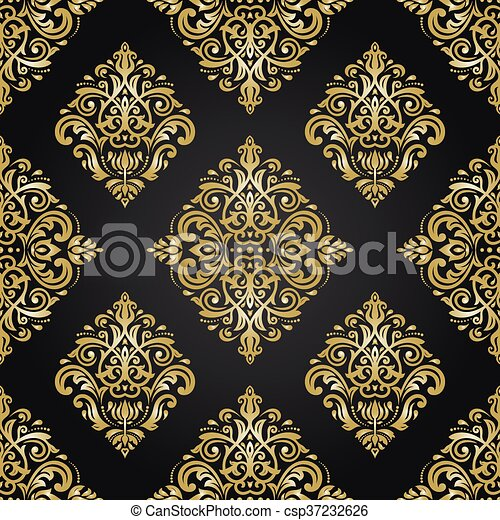 vecteur style papier peint seamless baroque dor style classique mod le ornement. Black Bedroom Furniture Sets. Home Design Ideas