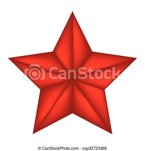 vecteur, symbole, icône, bethlehem, isolé, étoile, noël blanc, illustration, design., arrière-plan. - csp32723466