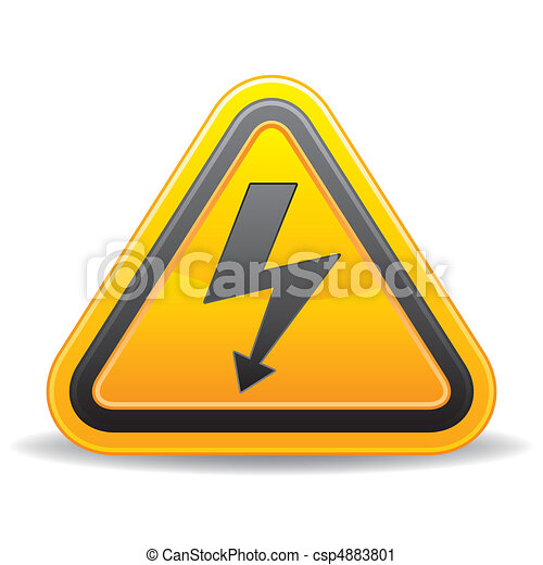 vecteur, tension, signe - csp4883801
