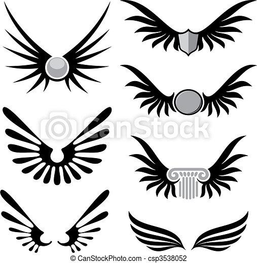 vector, 01, vleugels - csp3538052