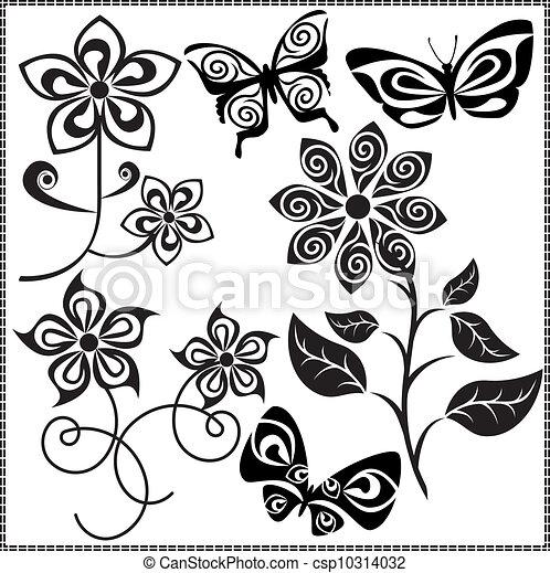 diseno de flores rome fontanacountryinn Resume Objectives for Any Position vector 3 flores dise o editable eps file vectores buscar