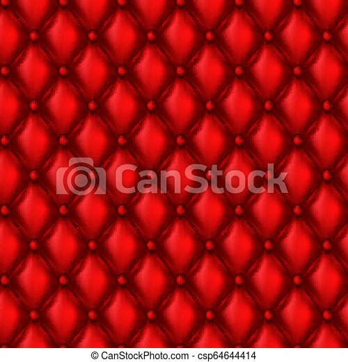 Vector 3d Leather Upholstery Seamless Pattern