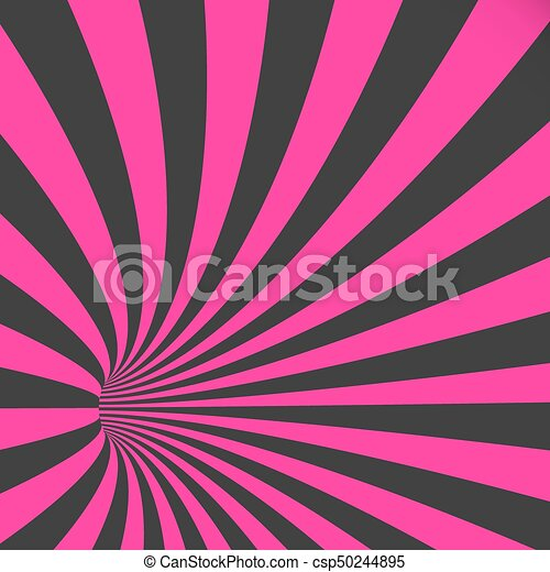 illustration of vector 3d tunnel background spiral hole illusion