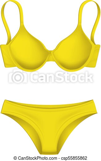 buy sale 100% genuine quality products vector 3d yellow bra panties template mockup