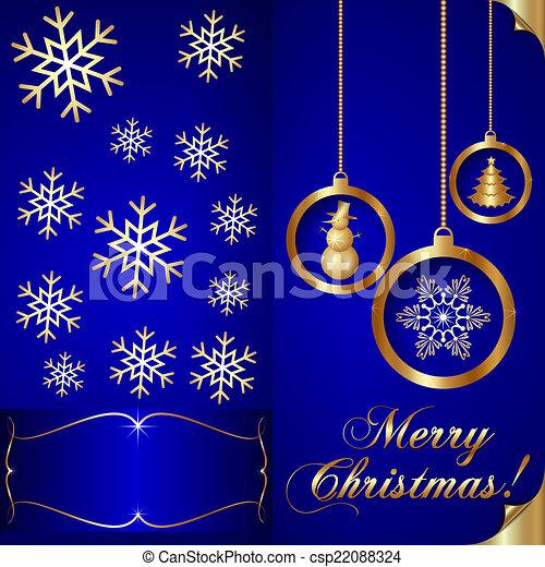 Vector abstart blue christmas invitation card vector abstart blue vector abstart blue christmas invitation card stopboris Images