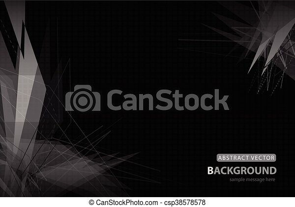 Vector abstract background - csp38578578