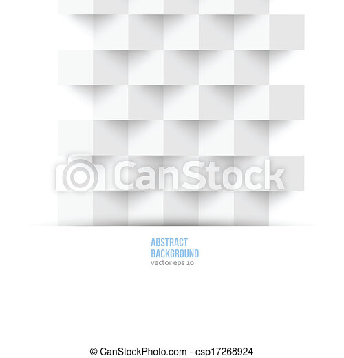 Vector abstract background. Polygon geometric - csp17268924
