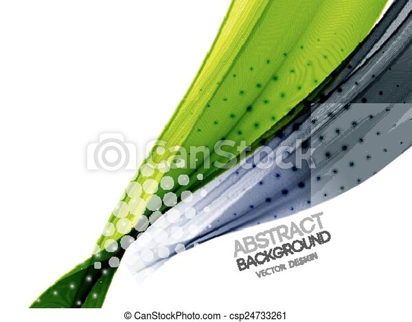 Curved Lines In Art : Vector abstract curved lines background template brochure clip