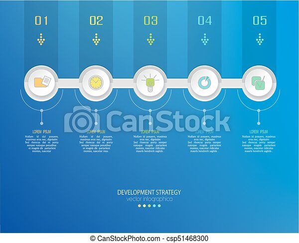 Vector abstract element for business strategy in stages steps of vector abstract element for business strategy in stages steps of development teamwork accmission Gallery