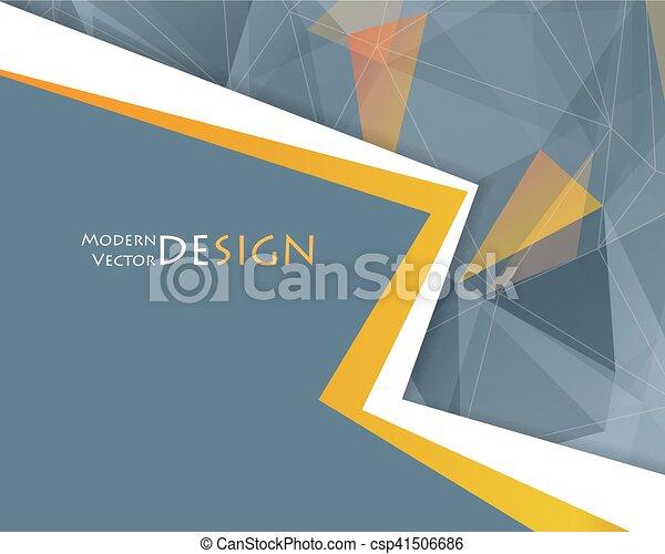 Vector abstract frame. Corporate design - csp41506686
